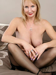 Nude granny nylons — 9